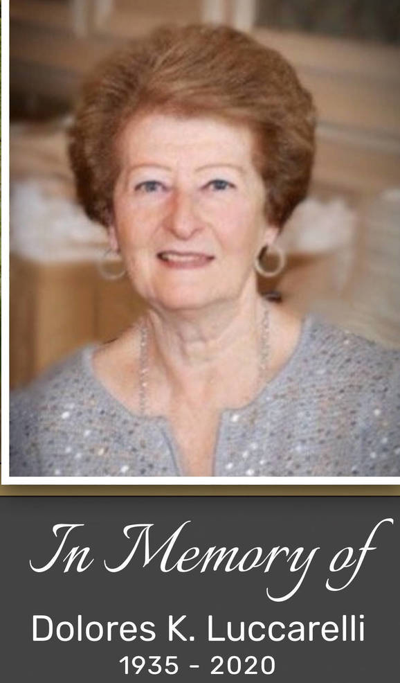 Beloved Member of our Community, Dolores K. Luccarelli of Holmdel, passed away March 20th