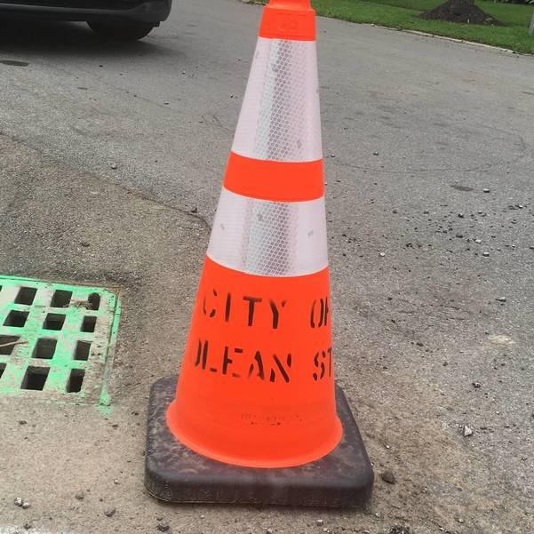 O-Olean Street Cone.JPG