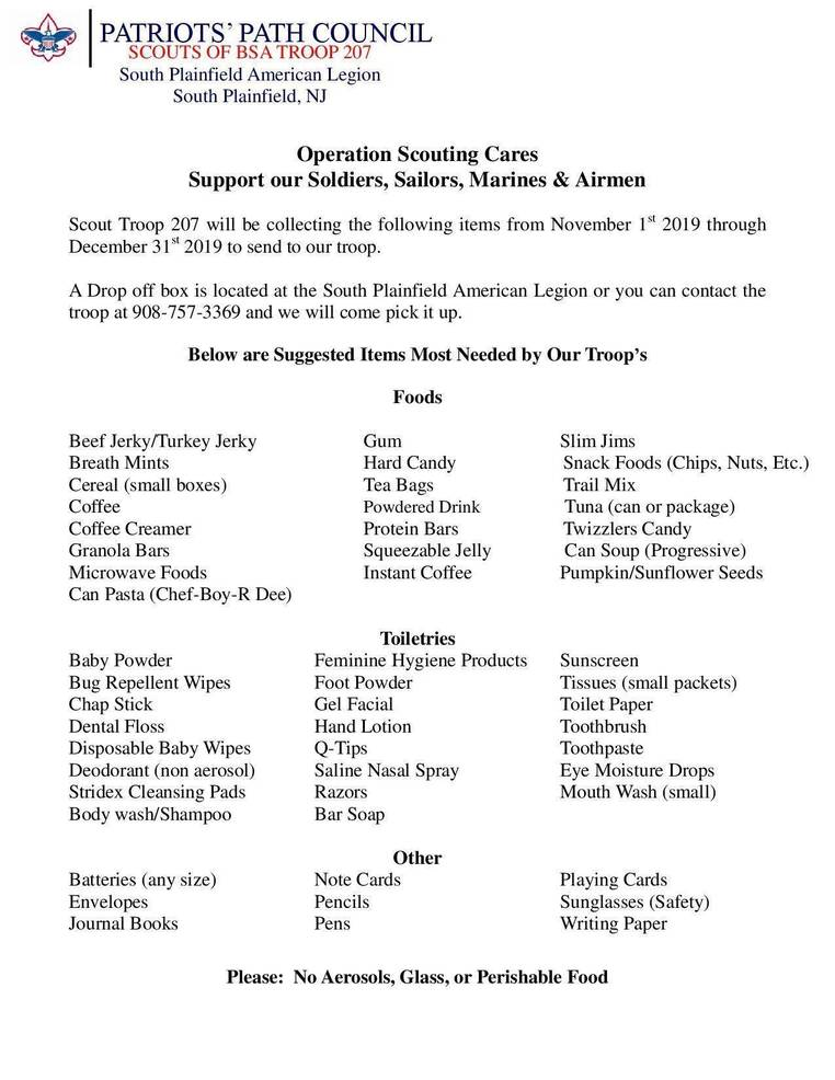 Operation Scouting Cares