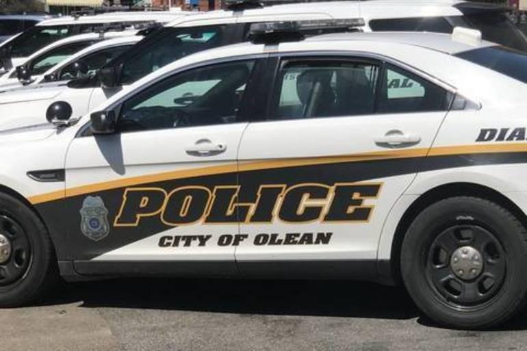 Olean Police Car