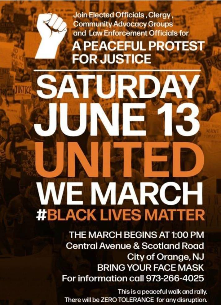 Orange BLM March and Rally