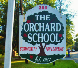 Carousel image cfaf8c9debbd6929e56b orchard school outside sign