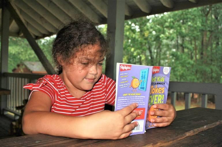 Reading & Writing at Camp