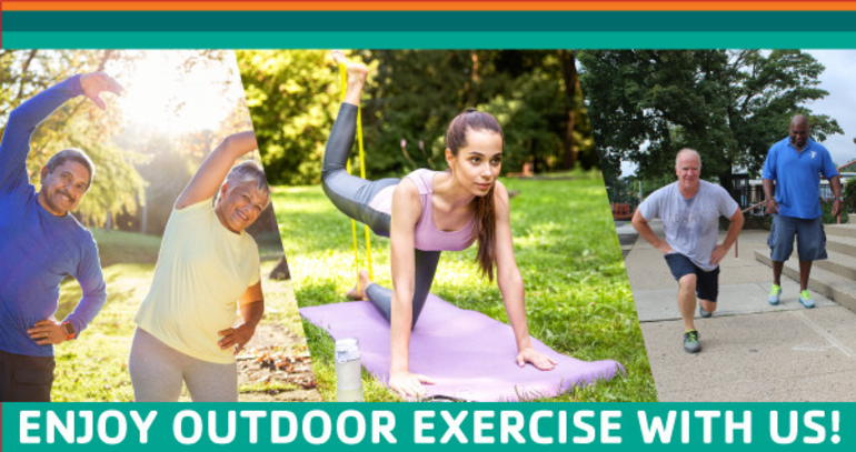 Outdoor Exercise and Indoor Personal Training at the Summit Area YMCA