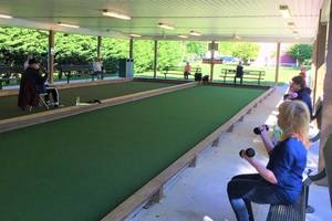 Robbinsville Senior Center Getting Moving with Outdoor Fitness, Health Classes