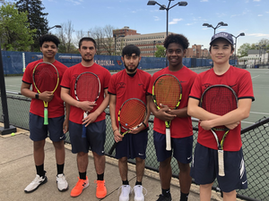 Plainfield boys tennis