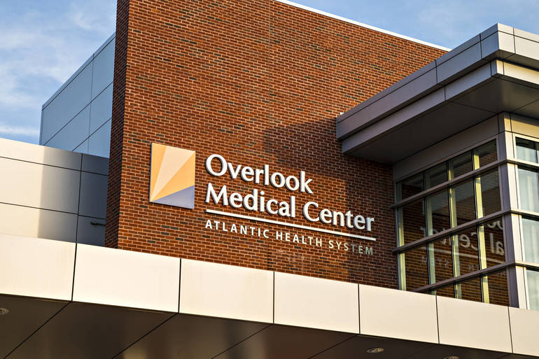Overlook Medical Center buildign signage.jpg