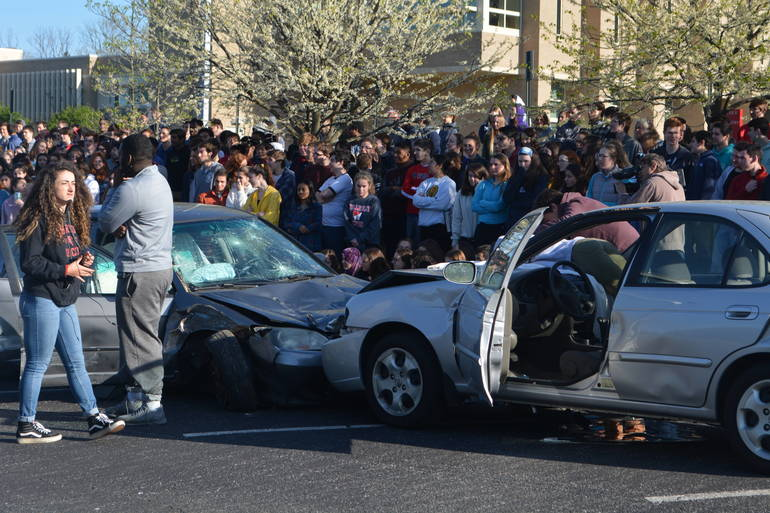 Lower Merion Harriton High School Mock Crash