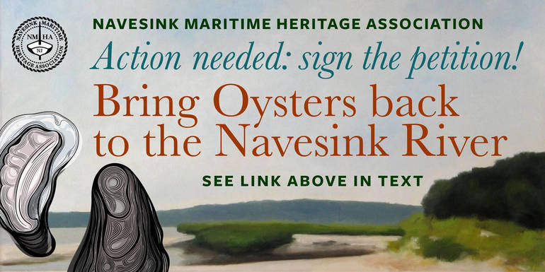 Your First Resolution - Take the Survey to Return Oysters Back to the Navesink River