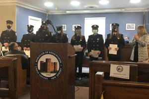 Kenilworth EMTs Honored with Mayoral Proclamation