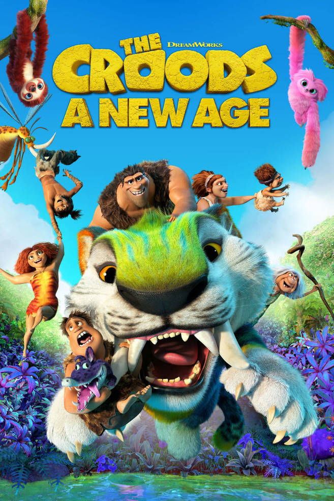 """Free Drive-Up Screening of """"The Croods – A New Age"""", April 23 at VoTech Campus in Scotch Plains"""