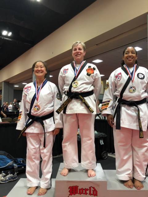 Westfield Area YMCA Chief Instructor Gedman Gets Gold in World Championships