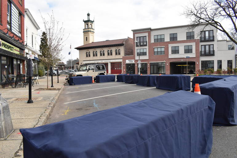 Parklets, Open Setup for Quimby Street Poised to Return to Downtown Westfield