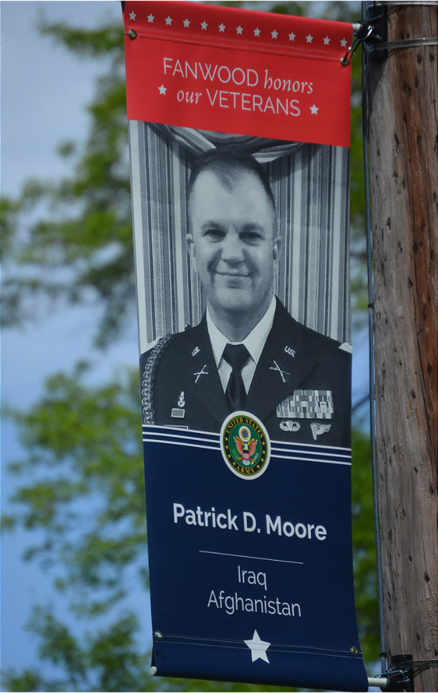Major Patrick Moore of Fanwood is an active duty serviceman.