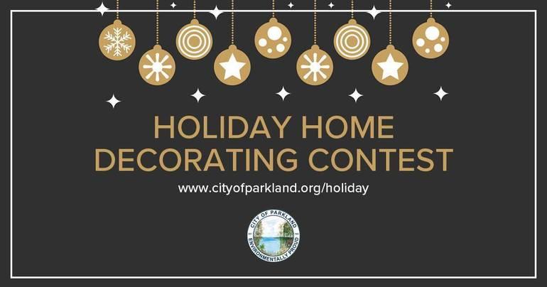 Parkland Holiday Decorating Contest
