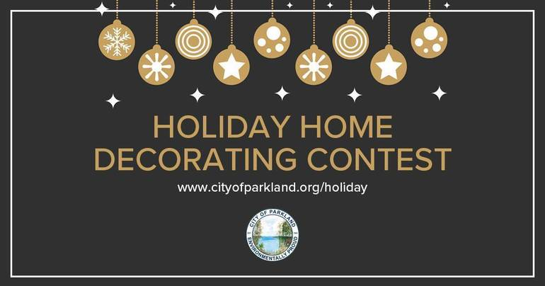 Parkland Holiday Home Decorating Contest Now Open