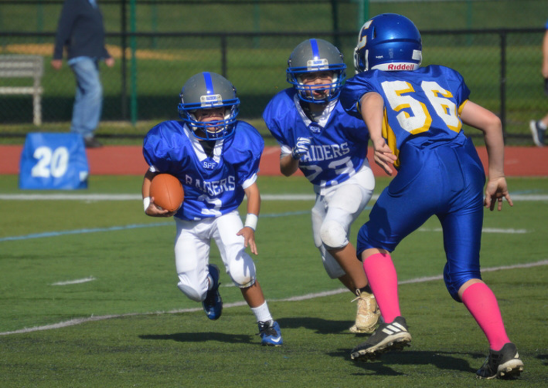 Scotch Plains-Fanwood PAL Football action shot