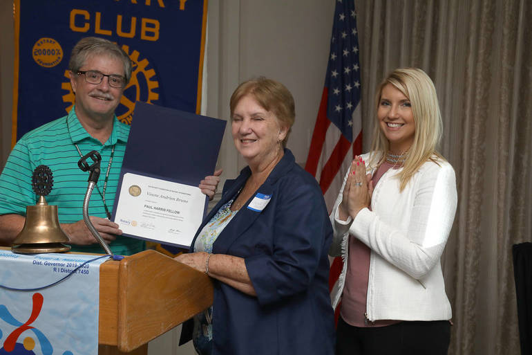 Lower Merion Ardmore Rotary Paul Harris Fellow