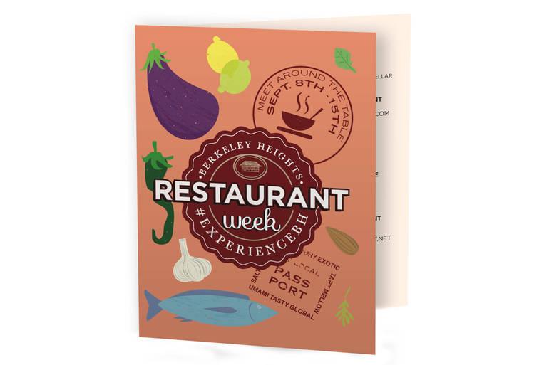 Berkeley Heights Restaurant Week Passport