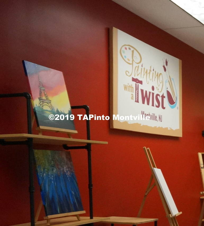 Painting with a Twist fundraiser ©2019 TAPinto Montville   Melissa Benno  1..JPG