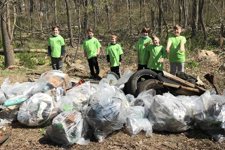 Roxbury Township cleanup