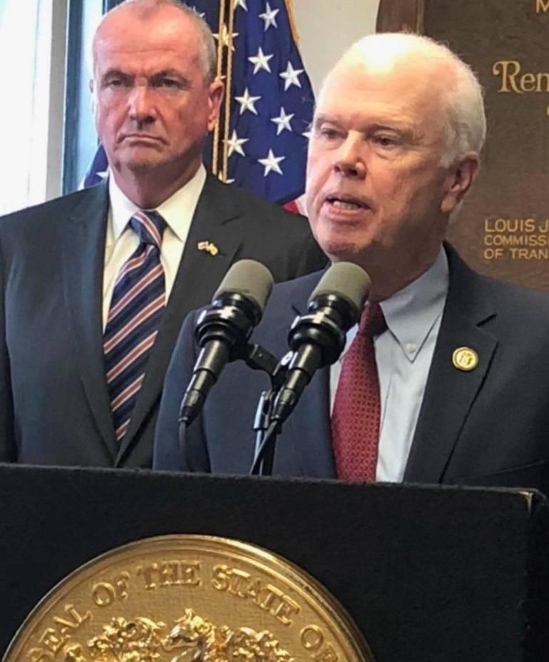 Governor Murphy and Senator Diegnan