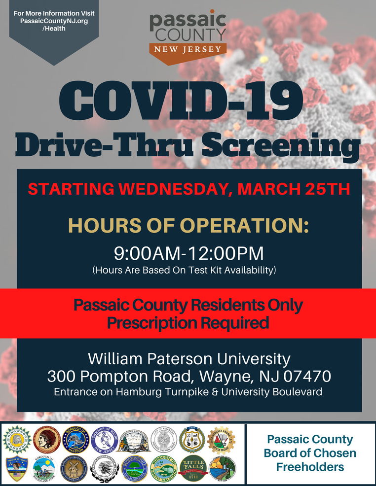 Passaic County COVID-19 Screening Site Opening (1).png