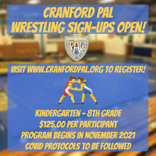 Cranford PAL Announces Program Sign-Ups and Try-Outs