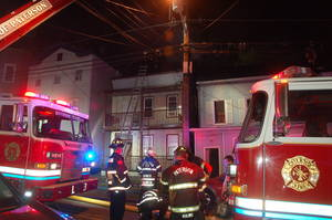 Paterson Police, Firefighters Team Up to Save Ten People from Overnight Blaze