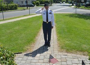 Carousel image bfe6d0fdad307bcbe6c6 patrick moore salutes fallen veterans at fanwood memorial library monument