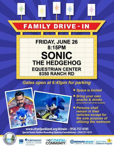 Drive In Movie Update Sonic The Hedgehog Tapinto