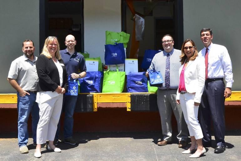 PCSB Bank Sponsors Food Drive for HVCS