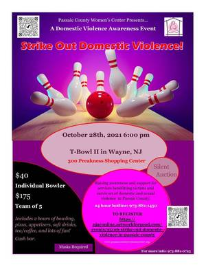 PCWC Hosts Awareness Event, Strike Out Domestic Violence
