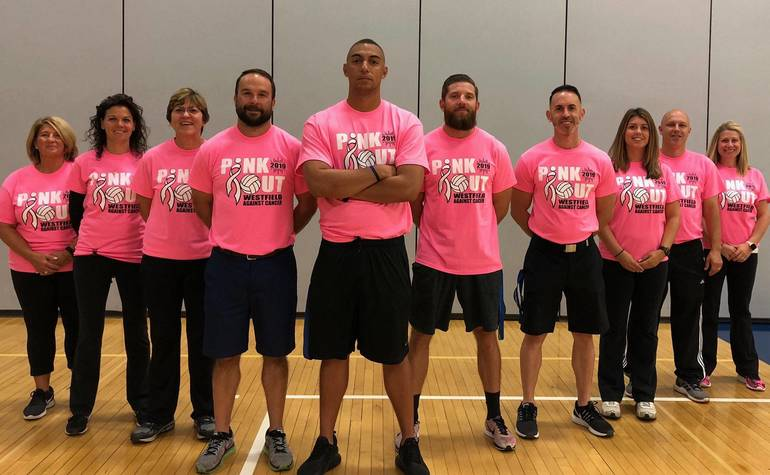 Minot Police Department shows support for breast cancer