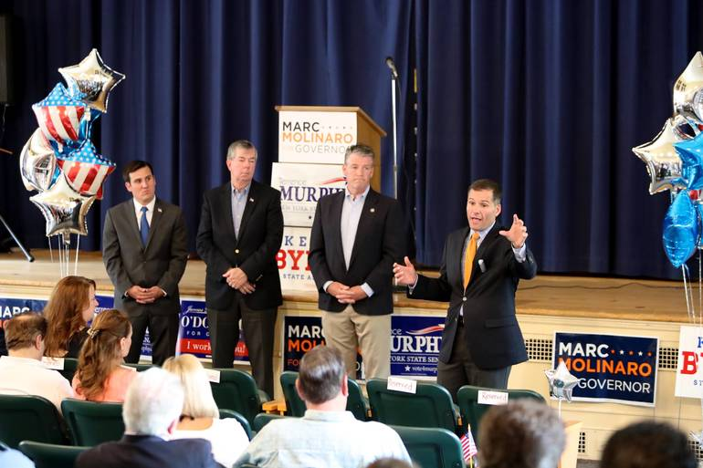 Marc Molinaro Answers Questions at North Salem Forum