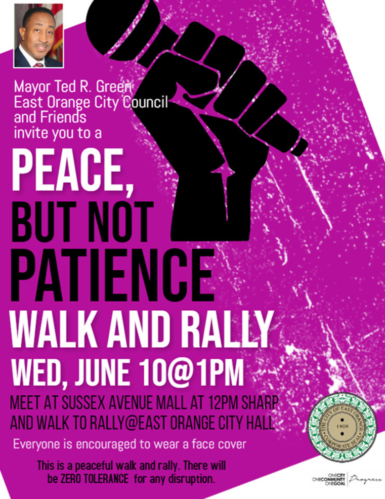 Peace But Not Patience Flyer