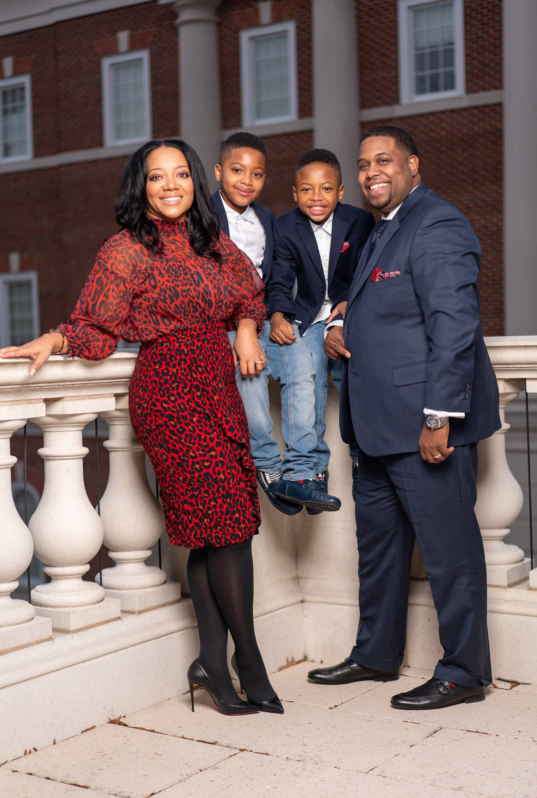 First Lady Tracey Hinton, Chase, Mason and Rev. Dr. Hinton.jpg
