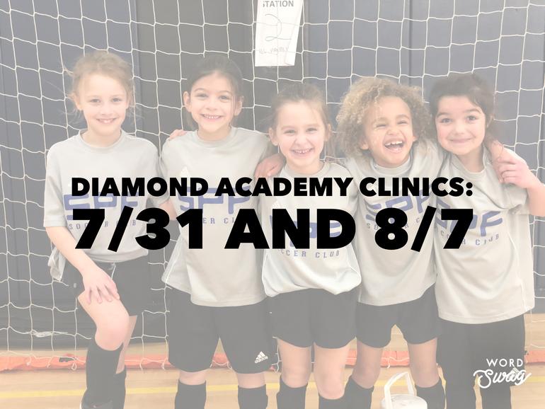 SPFSC Diamond Academy Players