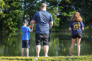 Dream Factory Balloons Photo of the Week: Kenilworth PBA Fishing Derby