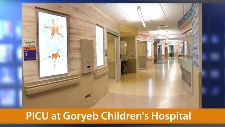 PICU - Goryeb Children's Hospital