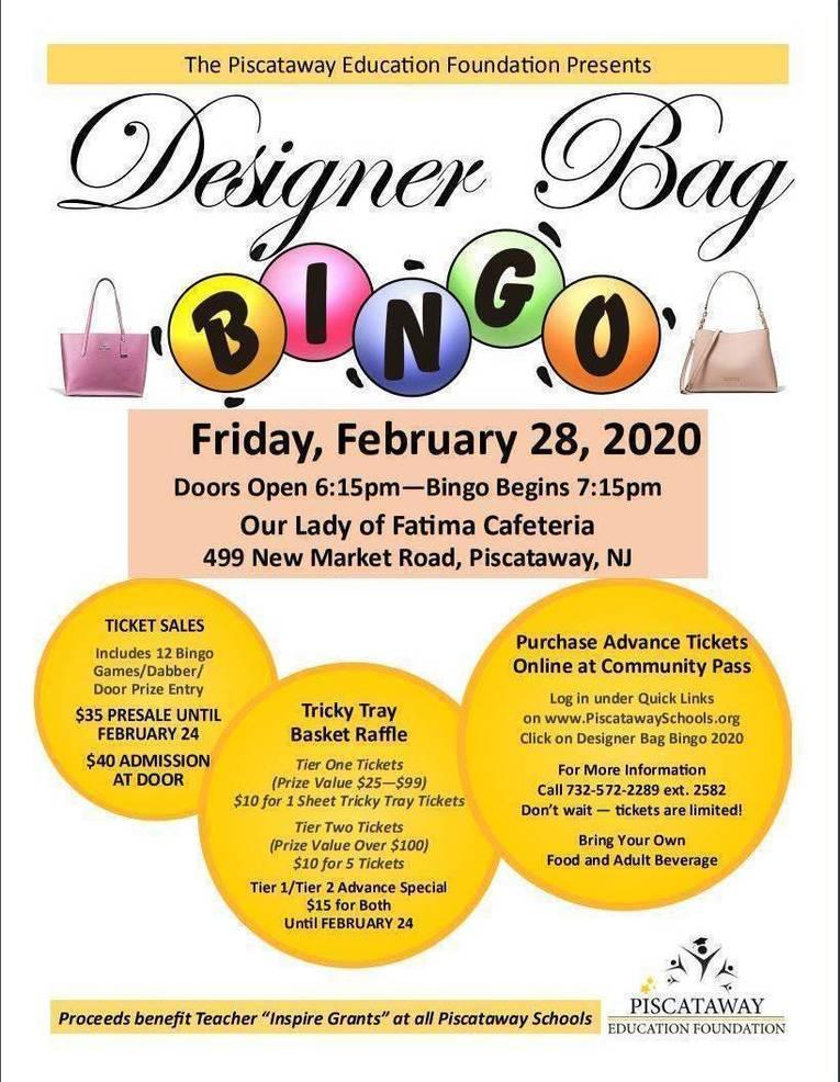 Piscataway Designer Bag Bingo.JPG