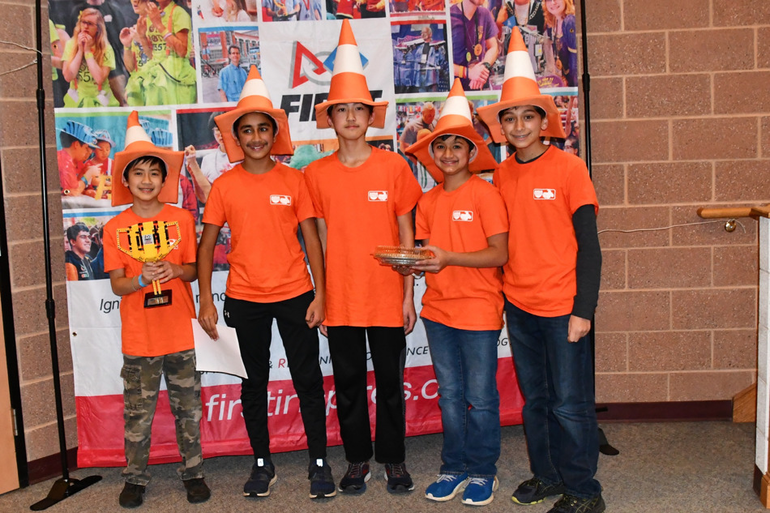 Livingston Robotics Club Teams Sweep Top Awards At The