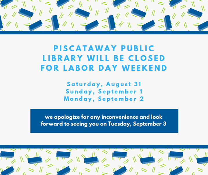 Piscataway Library Labor Day.png