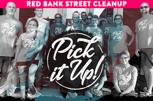 """Volunteer for """"Pick it Up!"""" and Keep Red Bank Clean and Green"""