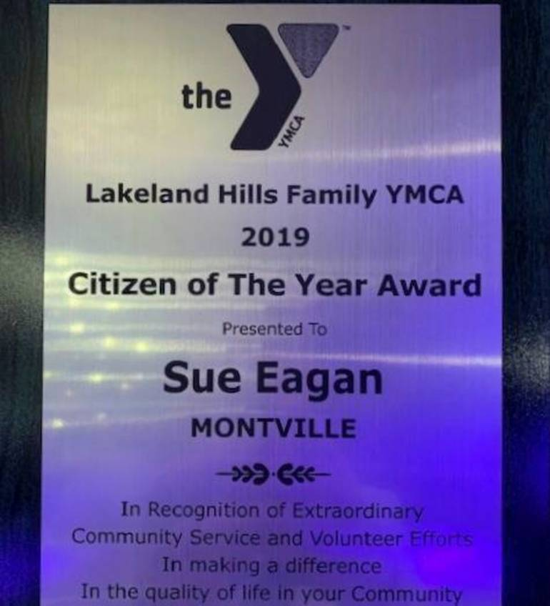 Plaque from the Lakeland Hills YMCA to Susan Eagan Aili Monahan - Copy.jpg