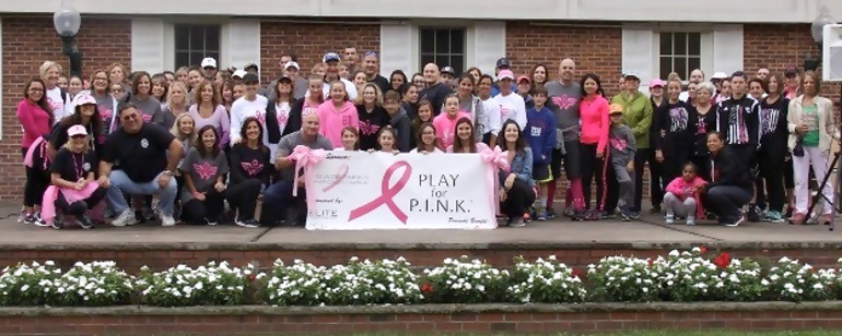 Registration Open for Scotch Plains 2-Mile Walk Breast Cancer Walk to Benefit Play for P.I.N.K. on Sat, Oct. 13