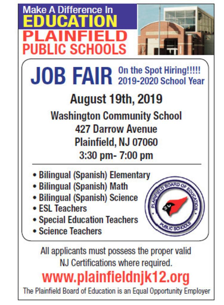 Plainfield Public Schools Job Fair.png