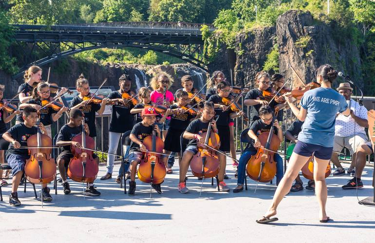 Paterson Music Project Students To Perform at  Great Falls Festival October 14