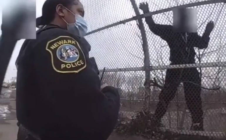 Newark Police Officers Rescue Man Attempting to Jump Off Overpass