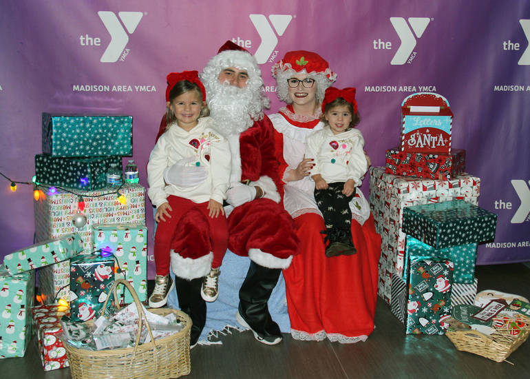 Lots of Fun at the Madison Area YMCA's 3rd Annual Holiday Hoopla